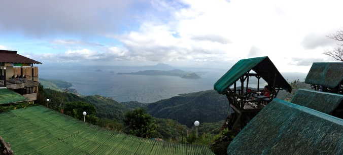 An overlook in Taygaytay.