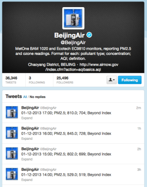 Beijingair twitter feed