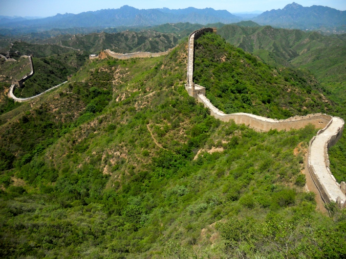 Great Wall at Jinshanling.