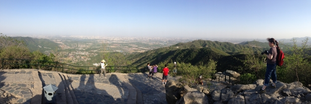 Another view from the peak, facing downtown Beijing.
