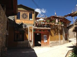 The hostel I stayed at Shangri-la.