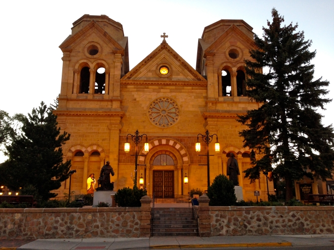 The Cathedral Basilica of Saint Francis of Assisi.