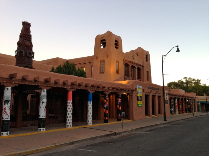 Santa Fe's historic adobe architecture.