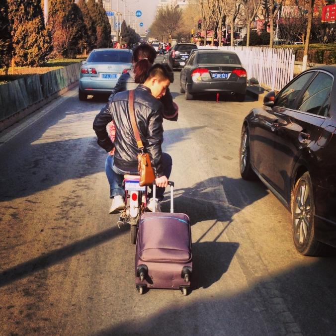 Cart puller.