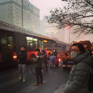 Beijing's mean streets aren't for the timid.