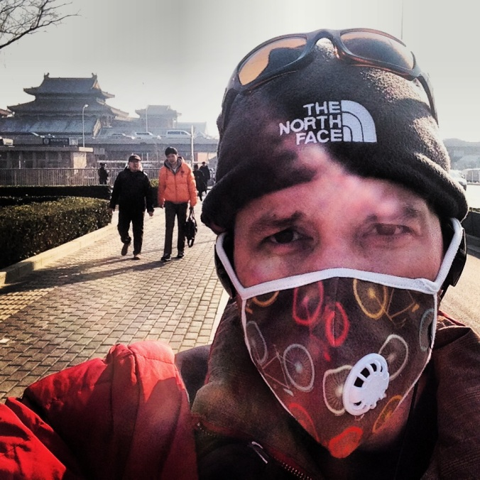Pollution masks have become a necessity in the capital. I started wearing them a couple of years, after I noticed that I was getting sore throat and coughs more frequently.