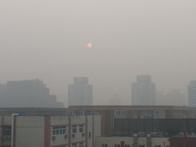"Pollution levels reached ""hazardous"" levels in Beijing on Saturday. Some scientists have labled Beijing as ""unlivable"" because of the poor air quality in the city."