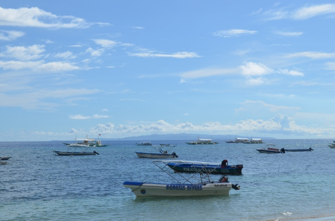 Fishing is one of the top industries in Bohol province.