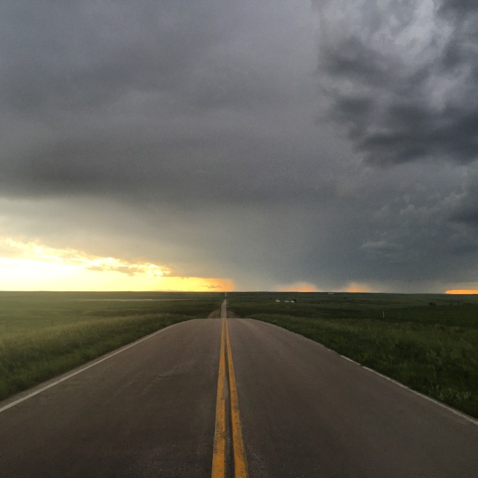 Large areas of South Dakota are sparsely populated and full of wide open spaces.